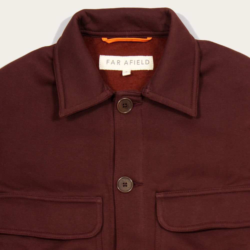 Bitter Chocolate Normsk Jacket Fleece | Bombinate