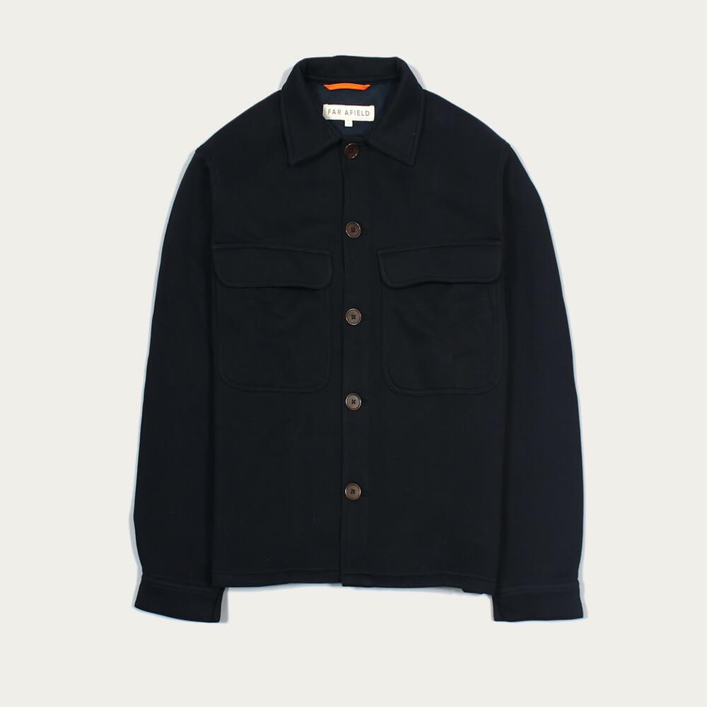 Blue Graphite Normsk Jacket Fleece   Bombinate