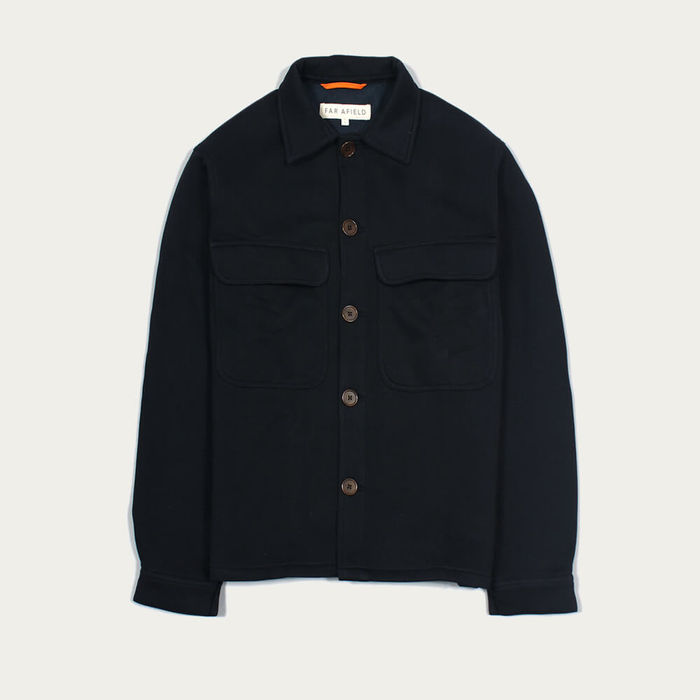 Blue Graphite Normsk Jacket Fleece | Bombinate