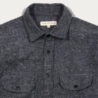 Blue Graphite Workwear LS Shirt | Bombinate