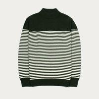 Duffel Bag Combin Stripe Knit Lambswool Mix | Bombinate