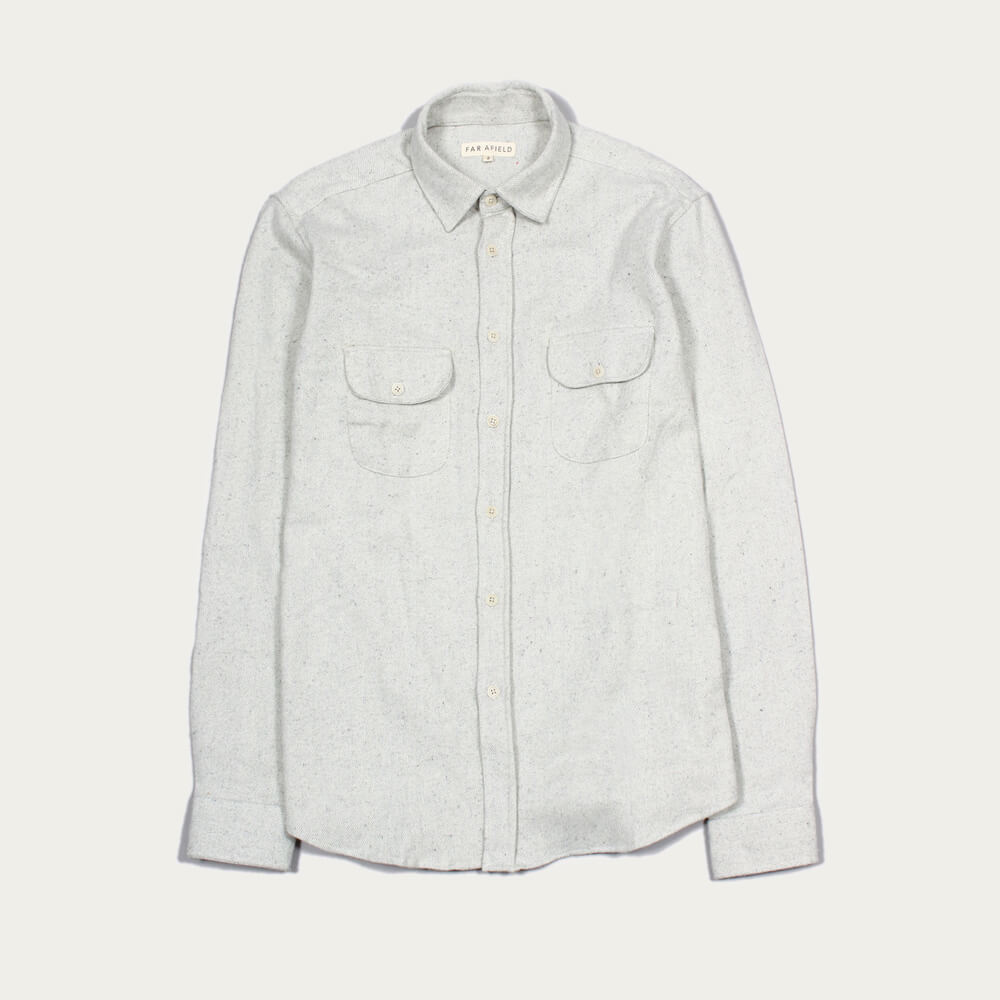 Egret Workwear LS Shirt | Bombinate