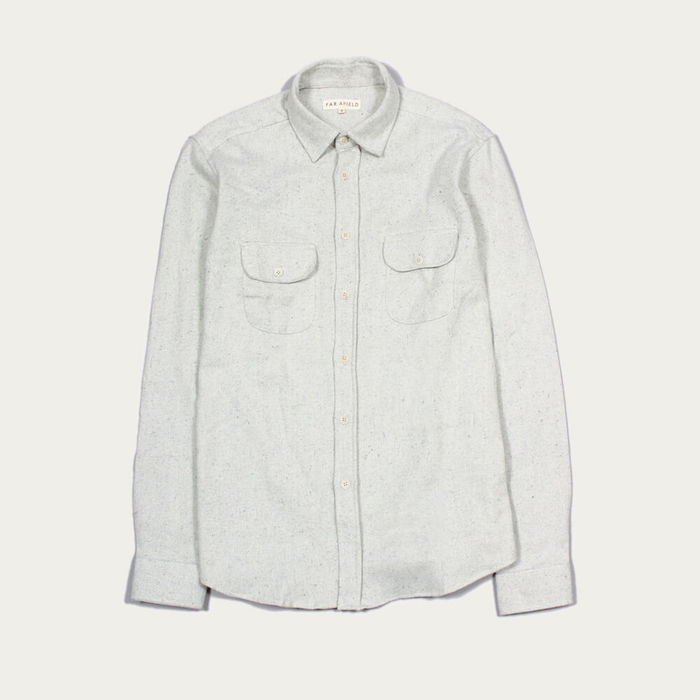 Egret Workwear LS Shirt | Bombinate