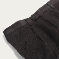 Peat Pleat Trousers Corduroy | Bombinate