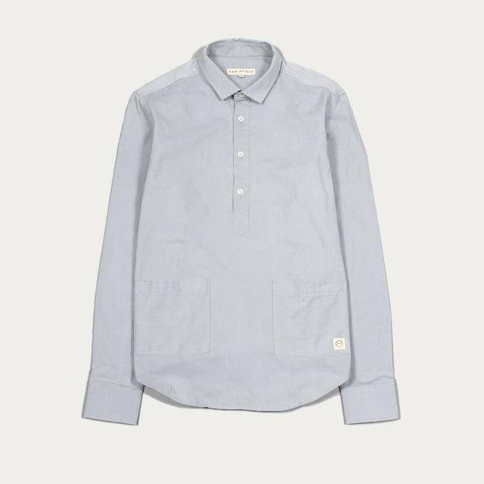 Tradewinds Pocket Pop Over LS Shirt Corduroy | Bombinate