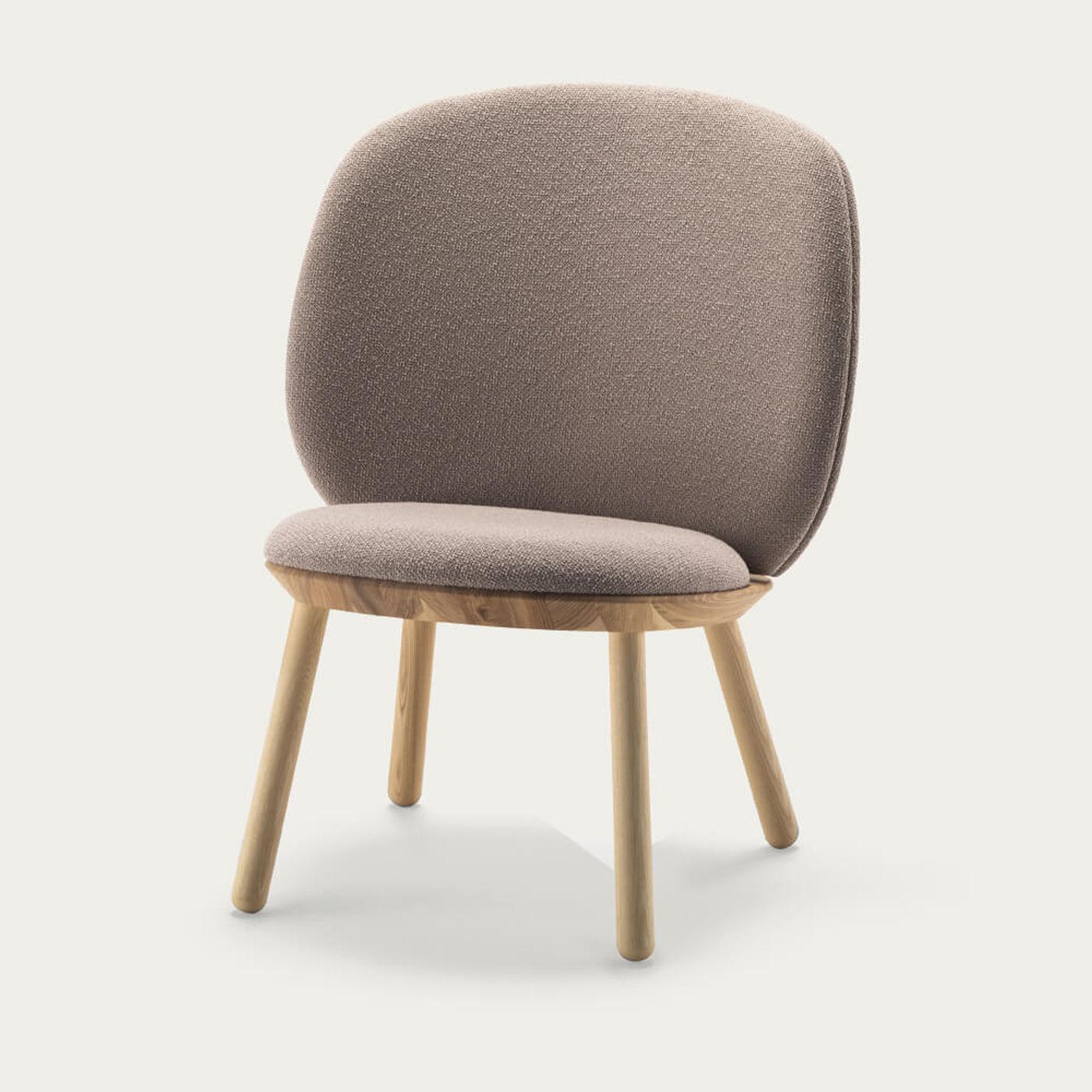 Oiled Ash/Kidstone Naive Low Chair | Bombinate