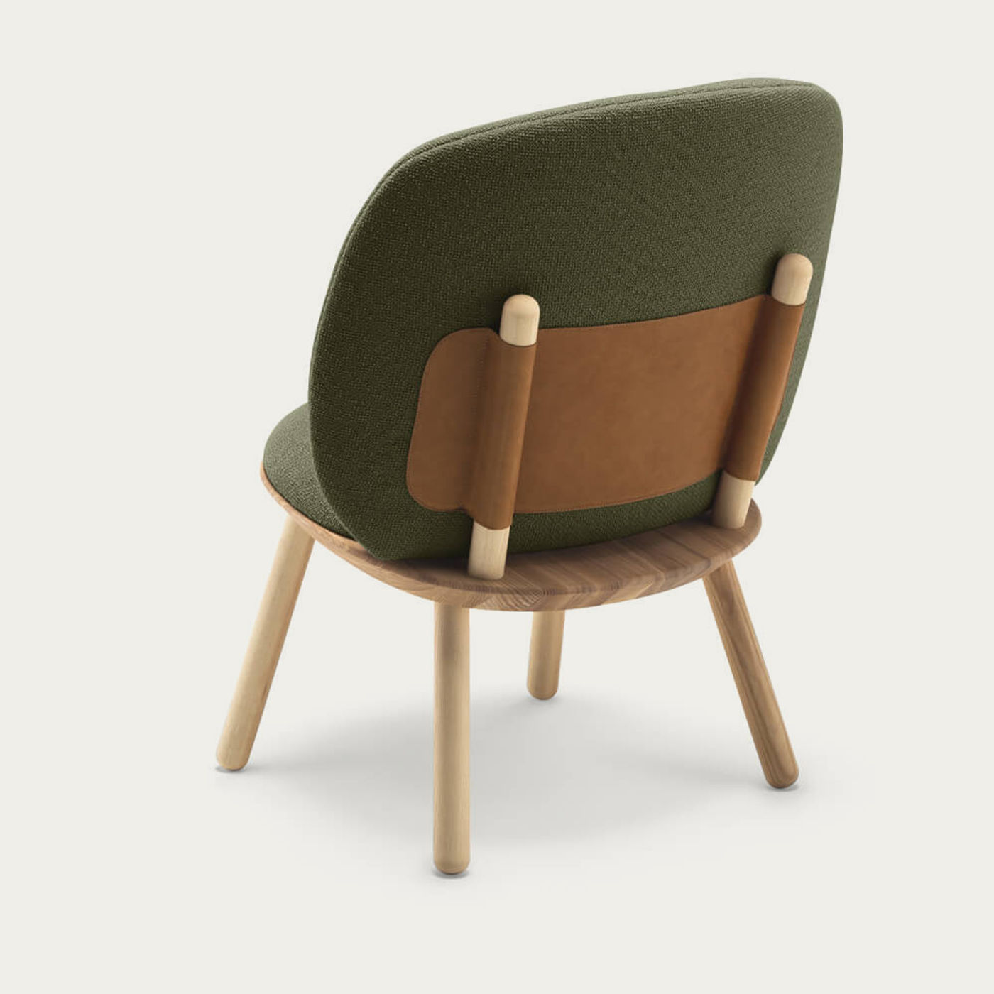 Oiled Ash/Gayle Naive Low Chair   Bombinate
