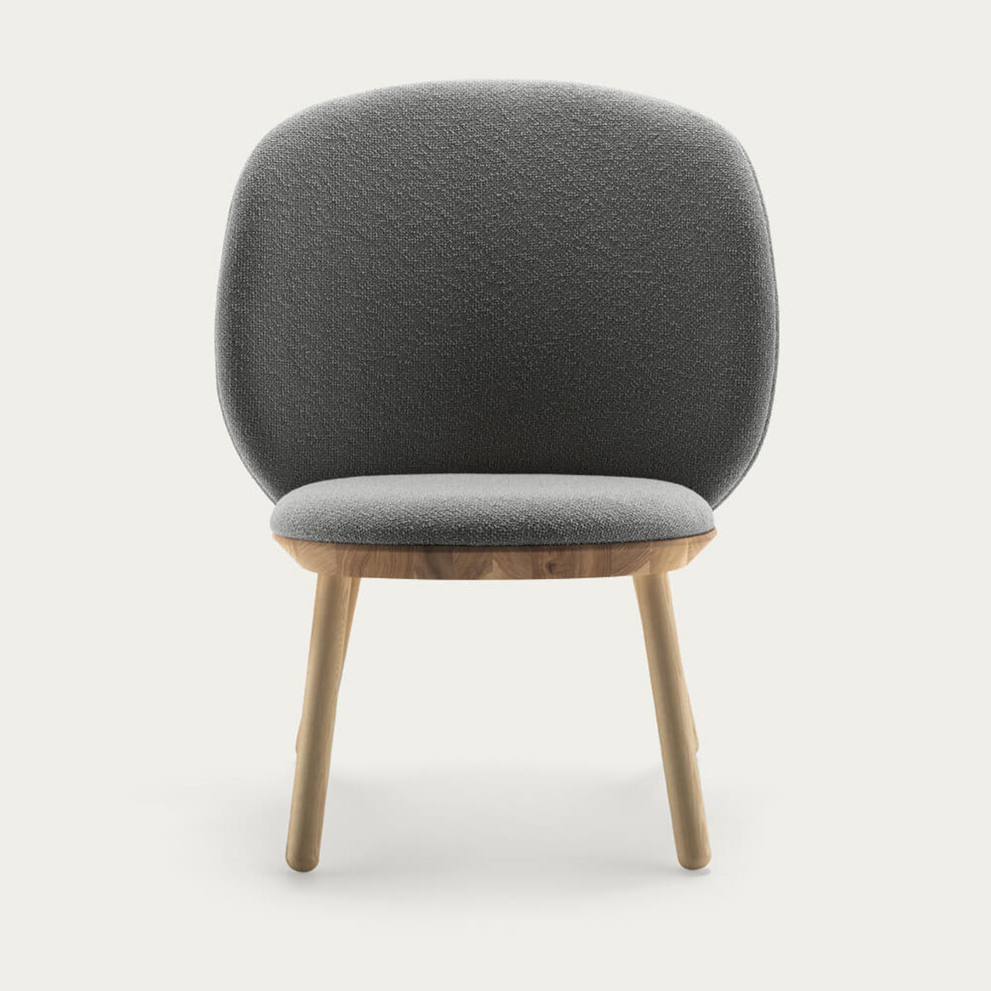 Oiled Ash/Hard Raw Naive Low Chair | Bombinate