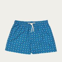 Blue Caprera Micro Elastic Swim Short | Bombinate