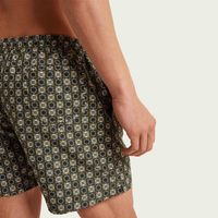 Green Isola di Gagliola Micro Elastic Swim Short | Bombinate