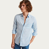 Celeste Budelli Pocket Linen Shirt  | Bombinate
