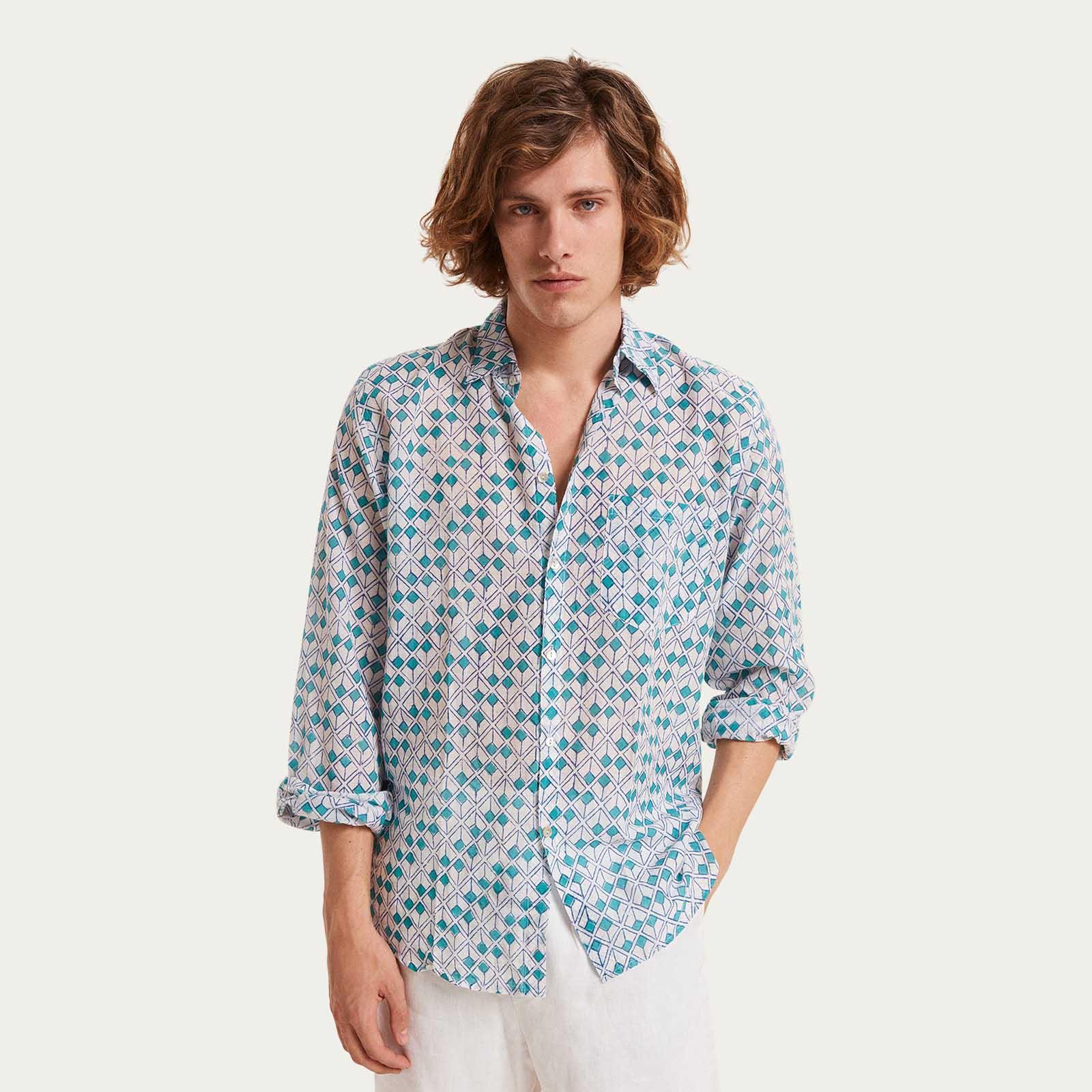 Cala dei Gabbiani Linen Shirt  | Bombinate