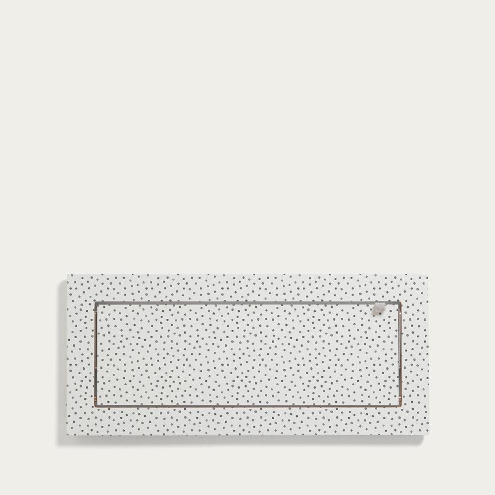 Watercolor Dots Kind of Style Fläpps Shelf 60x27 | Bombinate