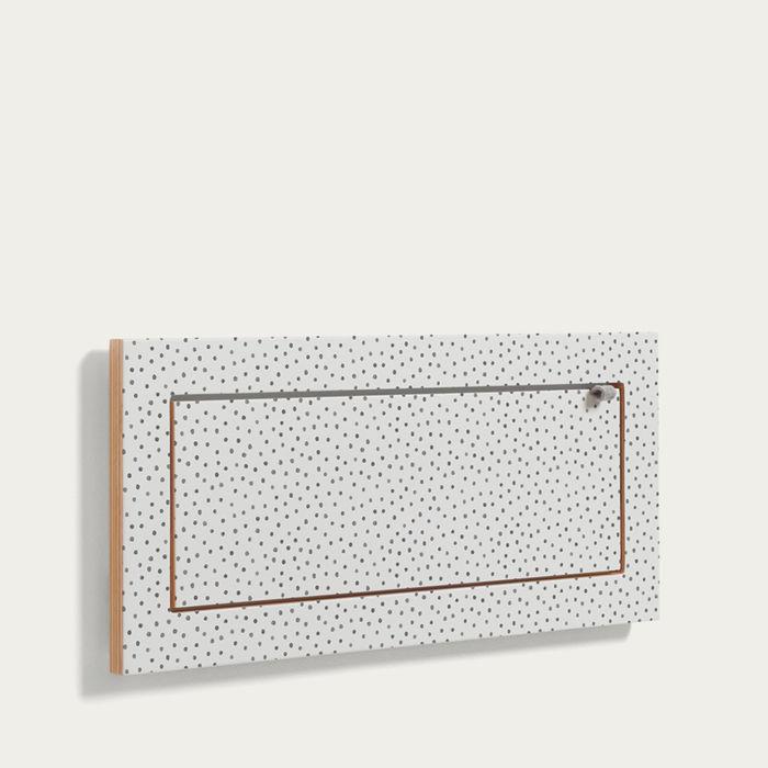 Watercolor Dots Kind of Style Fläpps Shelf 60x27   Bombinate