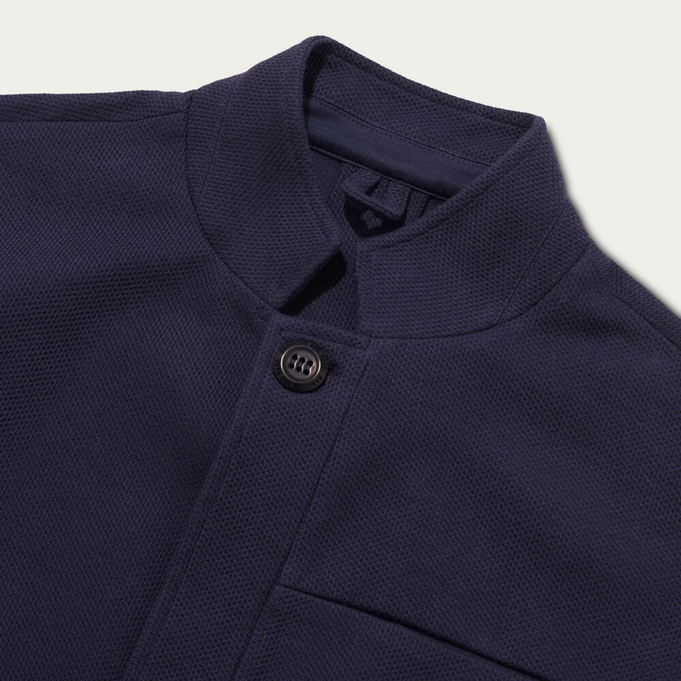 Navy Texture Journeyman Jacket | Bombinate