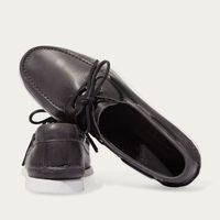Anthracite Orlando Boat Shoes   Bombinate
