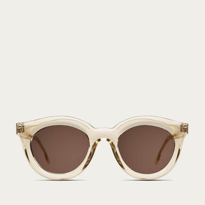 Champagne Vivid Sunglasses | Bombinate
