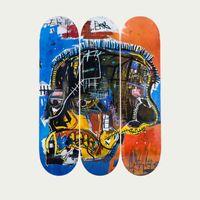 Skull Basquiat  | Bombinate