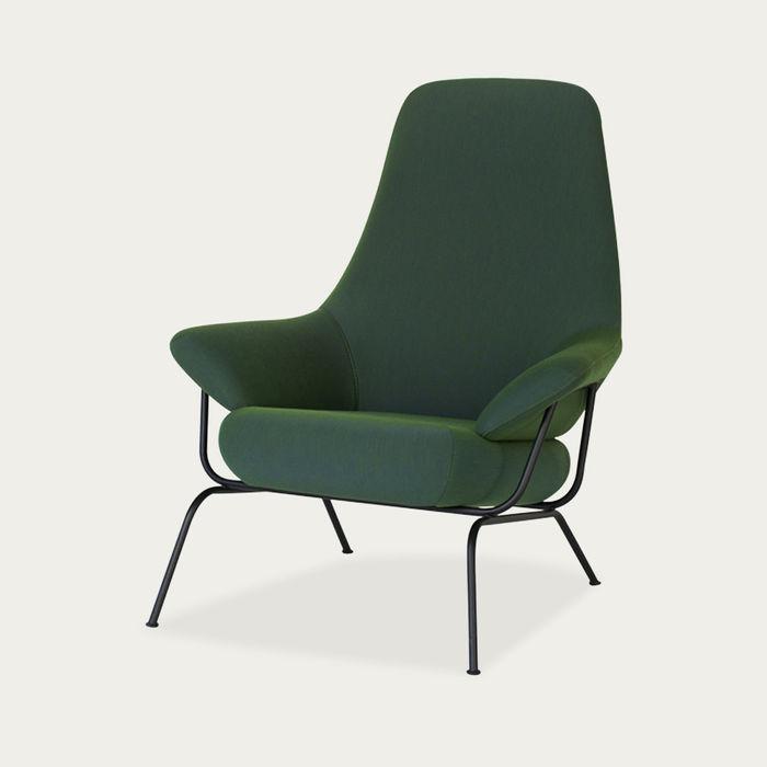 Bright Green Hai Chair by Luca Nichetto   Bombinate