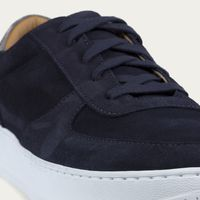 Navy/Grey/White Clement Suede   Bombinate