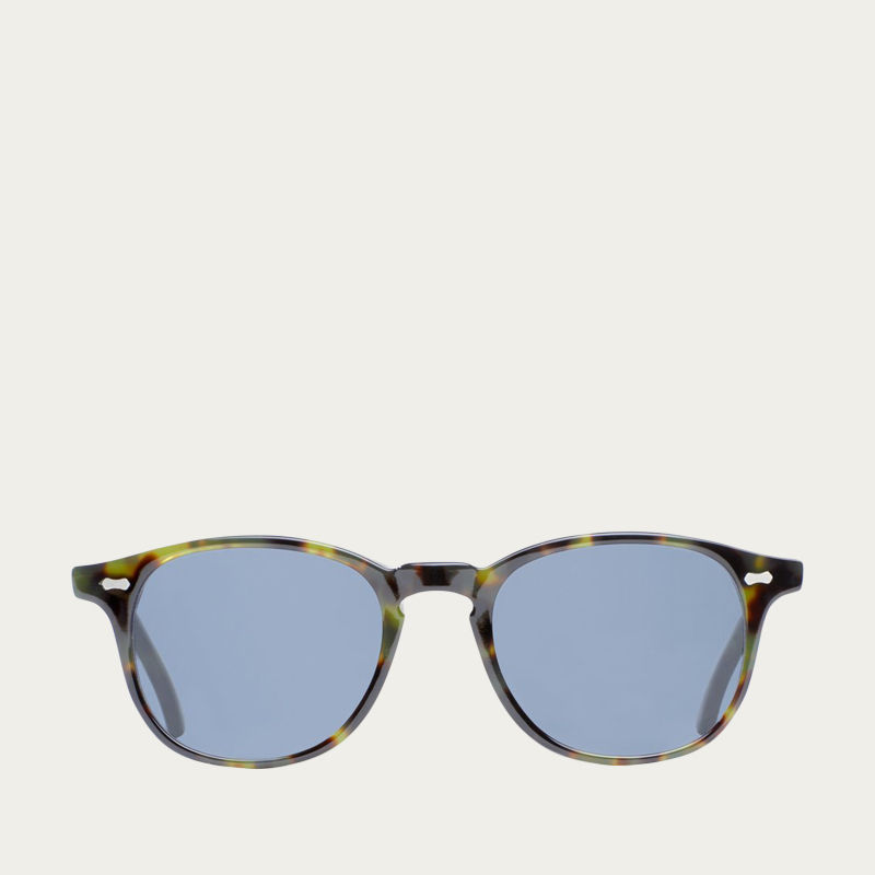 Green Tortoise / Gradient Grey Shetland Sunglasses  | Bombinate