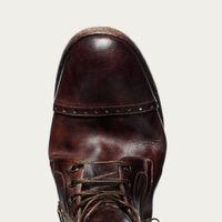 Vintage Brown Detroit Boots | Bombinate