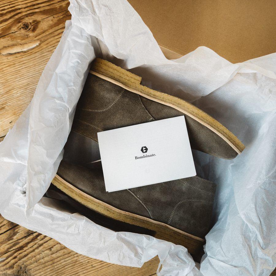 The Clove Chukka Boots  | Bombinate