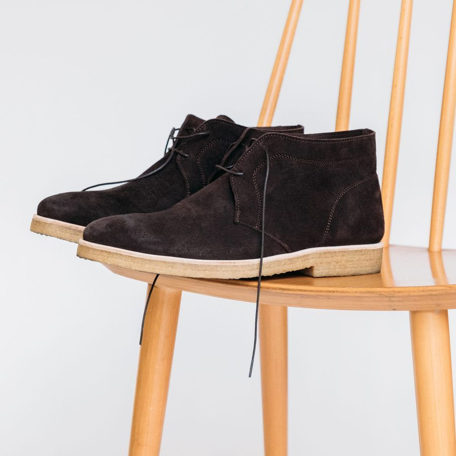 The Chocolate Chukka Boots  6