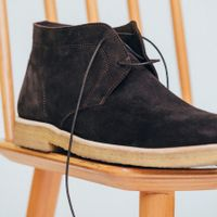The Chocolate Chukka Boots  8