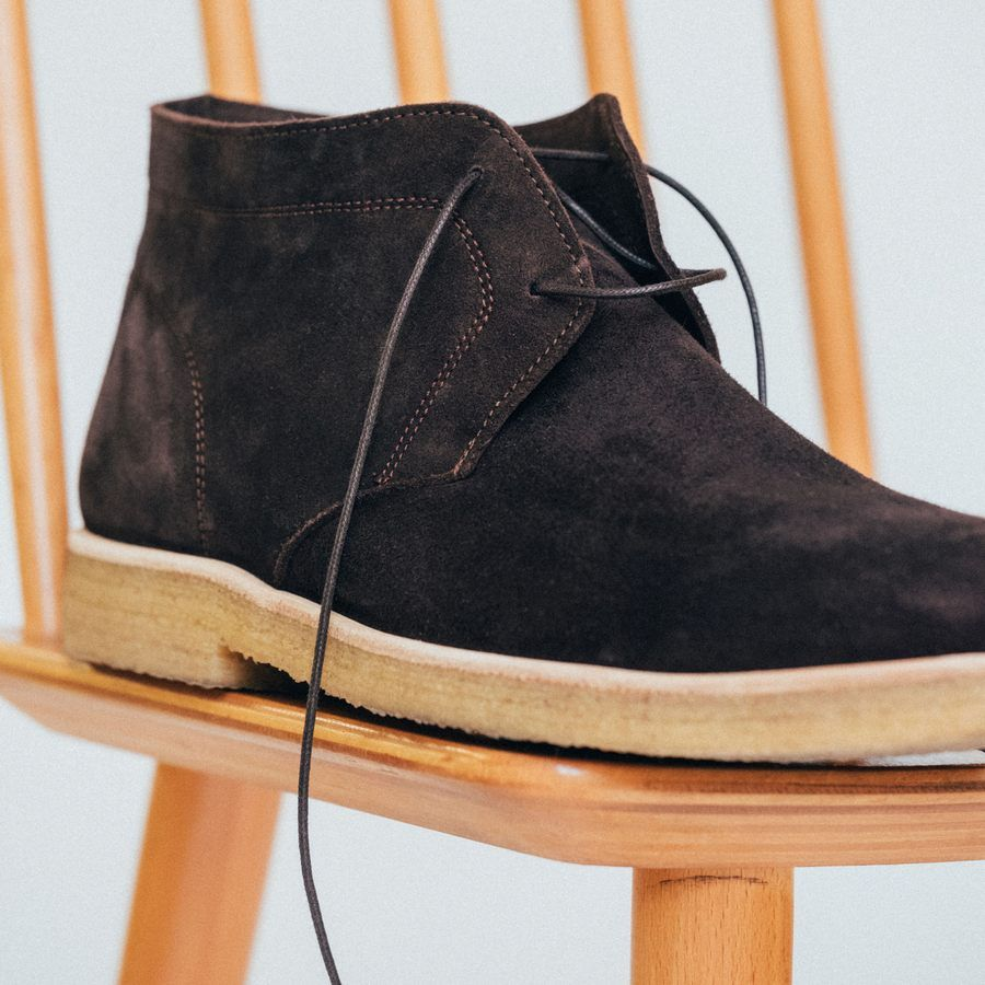 The Chocolate Chukka Boots  | Bombinate