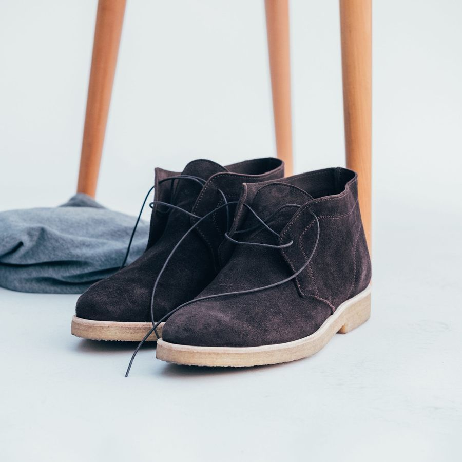 The Chocolate Chukka Boots  9