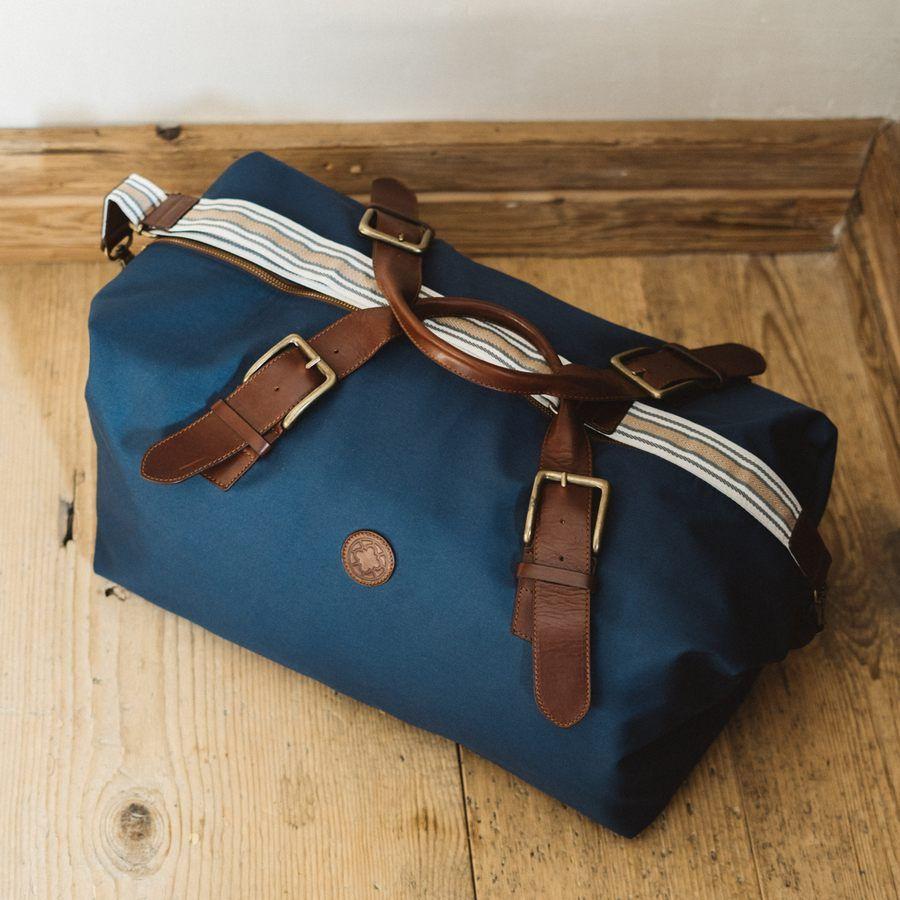 El Andalus Navy Mick Duffle Bag  12