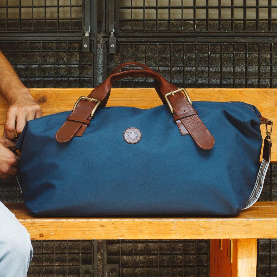 El Andalus Navy Mick Duffle Bag  10