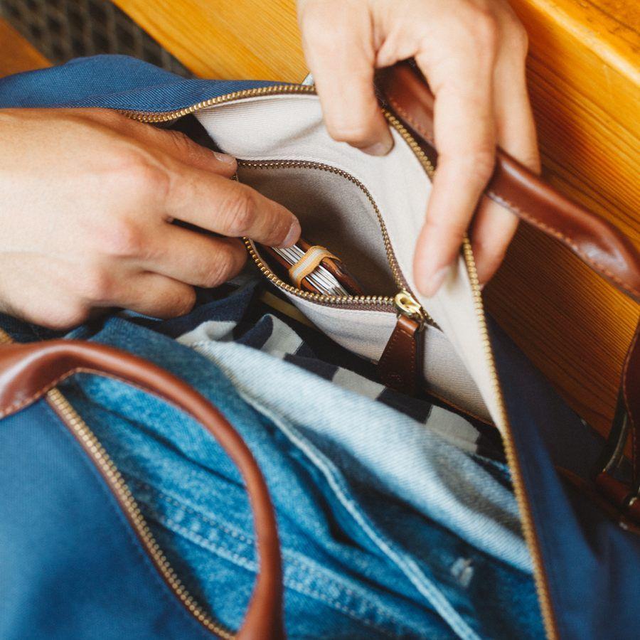 El Andalus Navy Mick Duffle Bag  11