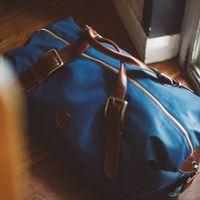 El Andalus Navy Mick Duffle Bag  | Bombinate