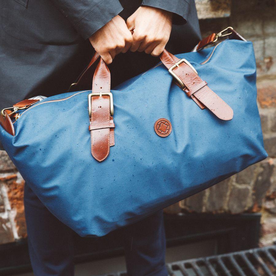El Andalus Navy Mick Duffle Bag  15