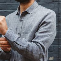The Uranos Heavy Linen Shirt  12