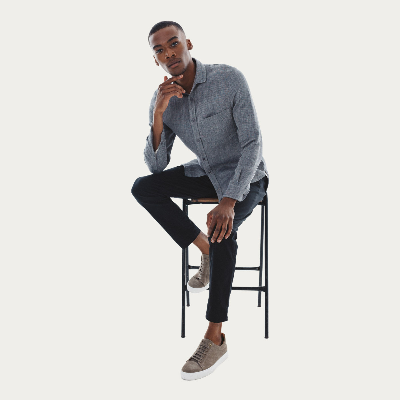 The Uranos Heavy Linen Shirt  5