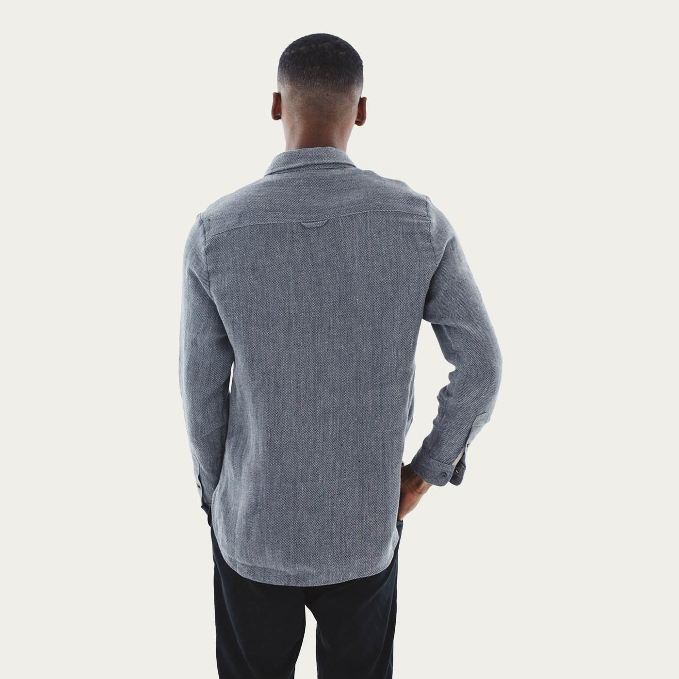 The Uranos Heavy Linen Shirt  4