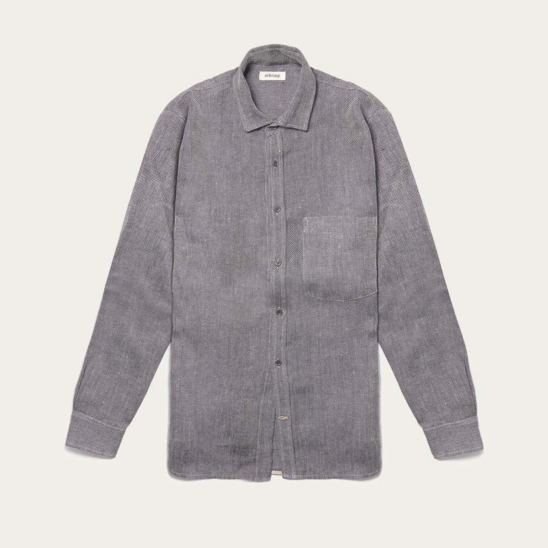The Uranos Heavy Linen Shirt  0