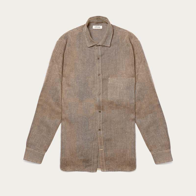 The Gaia Heavy Linen Shirt  | Bombinate