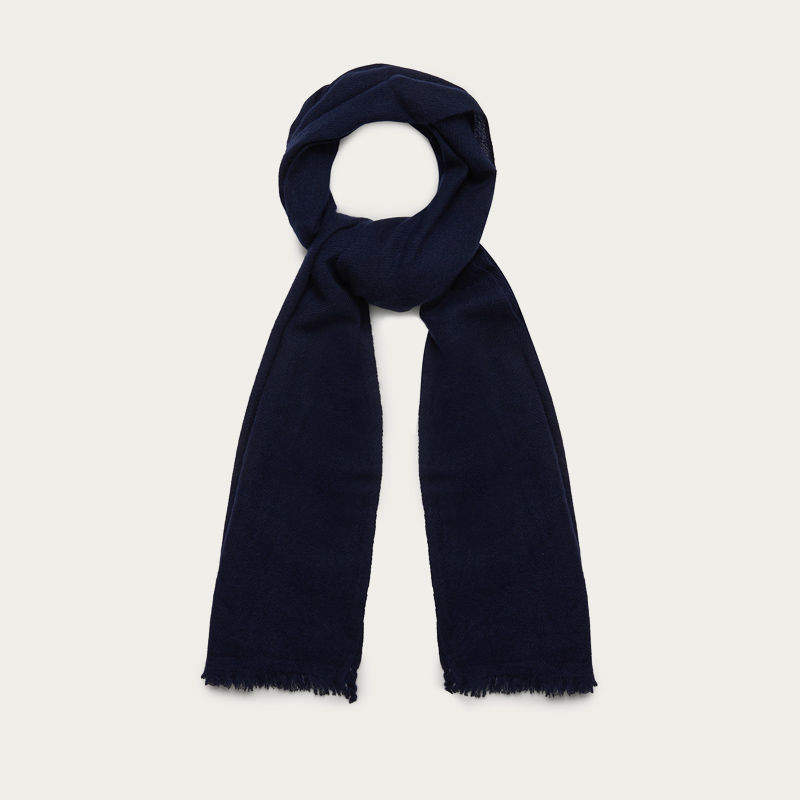 The Himalayan Navy Cashmere Scarf  1