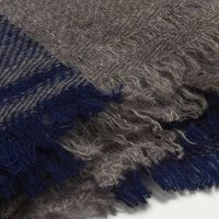 The Himalayan Stripes Cashmere Scarf  | Bombinate