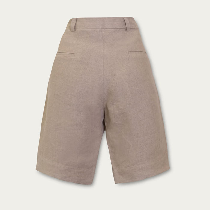 Beige The Classic Shorts | Bombinate