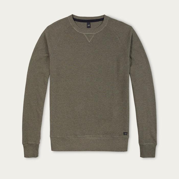 Army Green Rowe Piqué Sweater | Bombinate