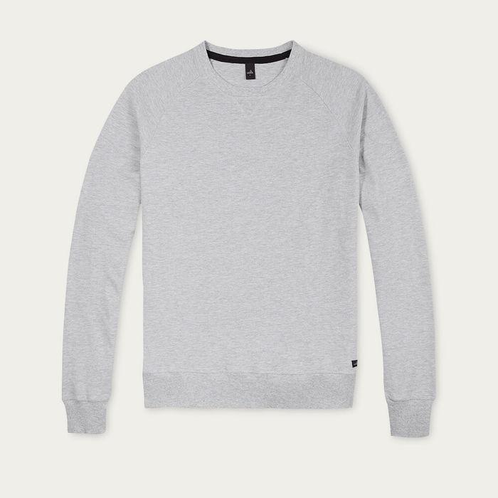 Light Marl Grey Rowe Piqué Sweater | Bombinate