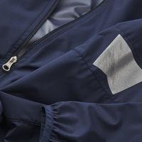 Navy Blue Nash Packable Jacket   Bombinate
