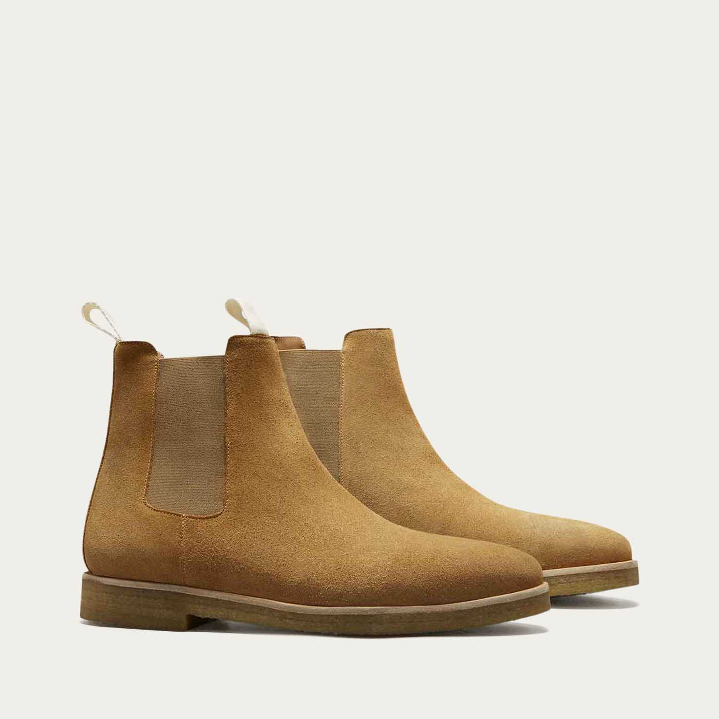 Cappuccino Chelsea Boots 1