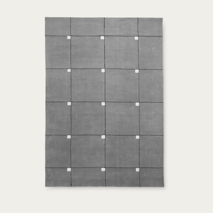 Gray Modern Rug   Bombinate