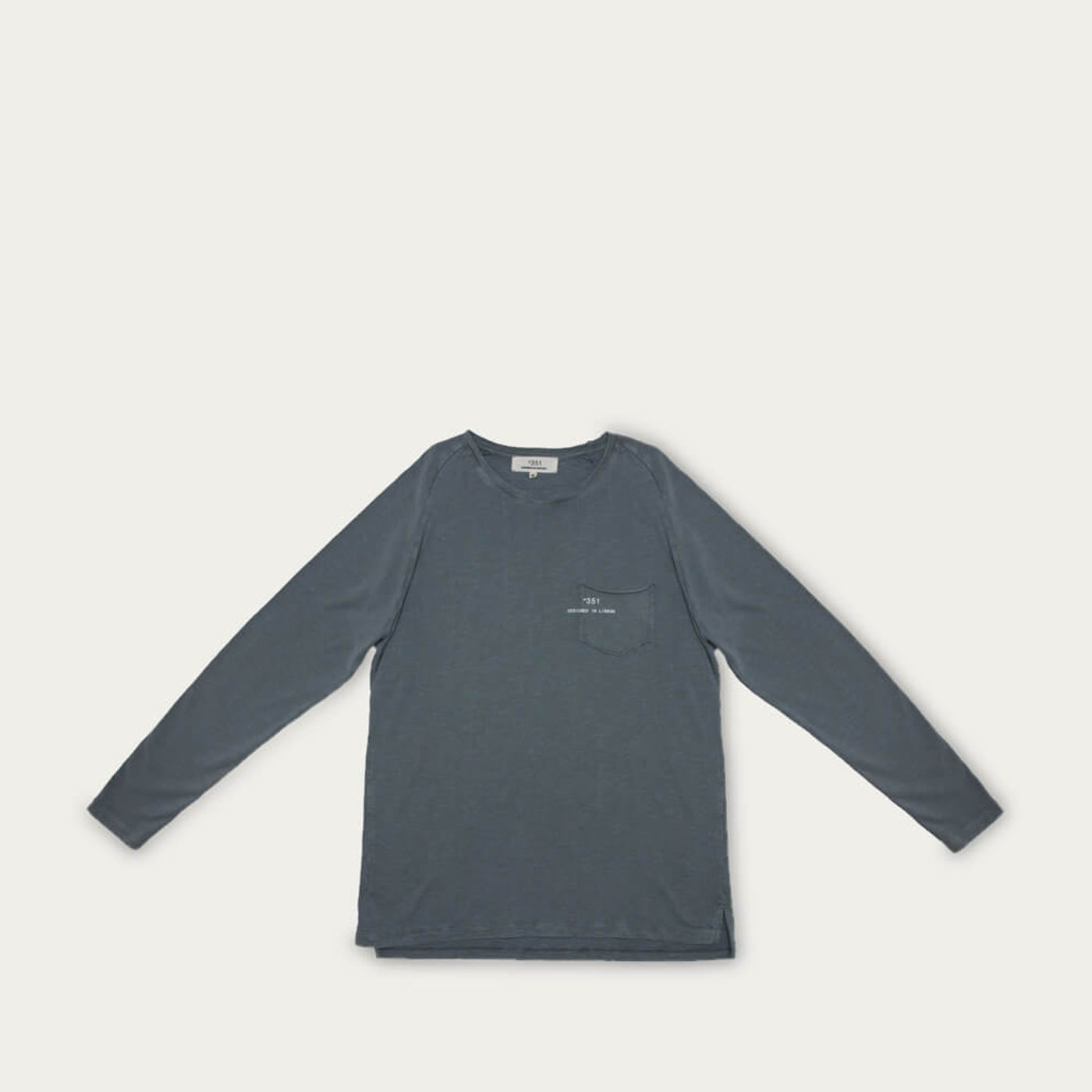 Stoned Grey Long Sleeve Essential   Bombinate